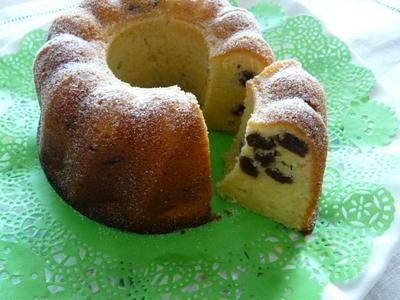サワークリーム&レーズンのバターケーキ