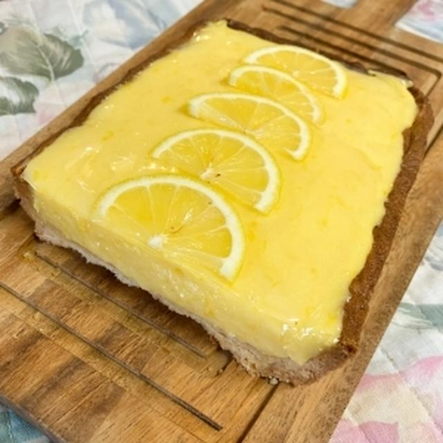 ふわふわレモンクリームのタルト