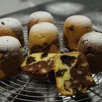 2層の発酵バターケーキ