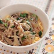野菜メインなのに満足おいしい♪簡単「ベジ丼」レシピ