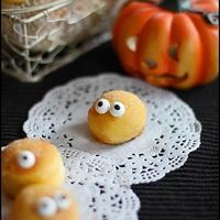 ハロウィン☆ パンプキン ミニ焼きドーナツ
