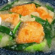 甘塩鮭のおろし煮<お得な塩鮭が和食の味に>