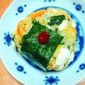 〜流行りのごちそうおにぎり〜スタミナ☆ビビンバにぎり#ごちそうおにぎり #スタミナ #韓国料理