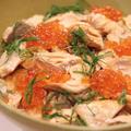 北海道産の生秋鮭で作る『贅沢…!鮭といくらの親子丼』のレシピ*