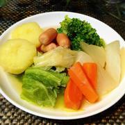 洋風おでん?ゴロゴロ野菜のコンソメ煮