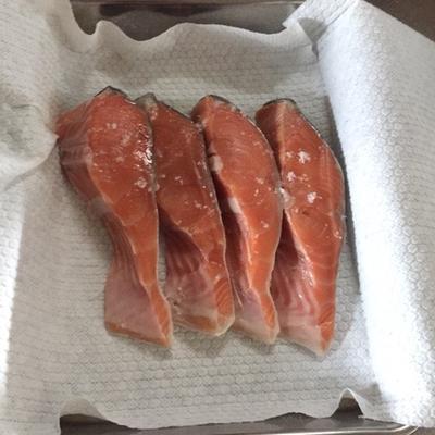 鮭のバター醤油炒めときのこソテー。とごはん日記帖