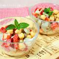 ノンオイル・乳製品不使用・体が喜ぶ♪ひよこ豆とゴボウの豆乳味噌サラダ