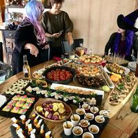大人が本気で楽しむハロウィンパーティー2017@料理家。今回のテーマはフィンガーフード♪