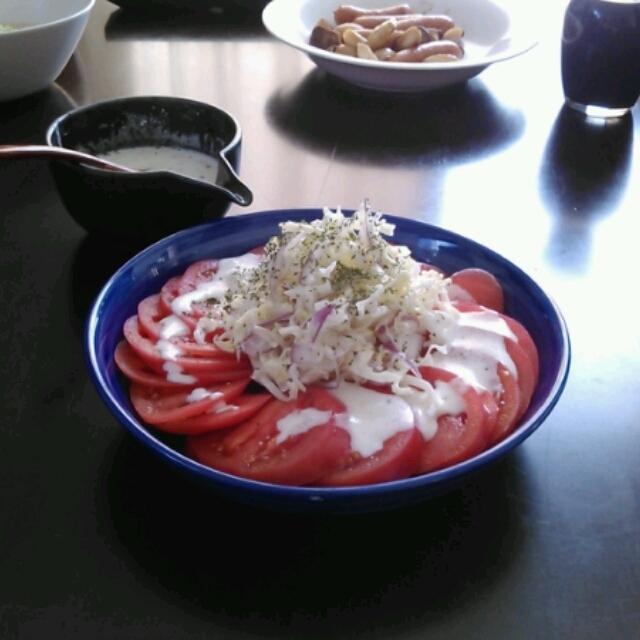 レシピブログ☆トマトサラダ