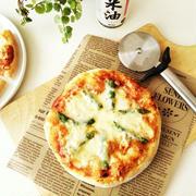 米油で作る 耳までふわっと美味しいピザ生地