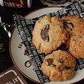 冬のコーヒータイムにお勧め♡チョコとくるみのアメリカンドロップクッキー