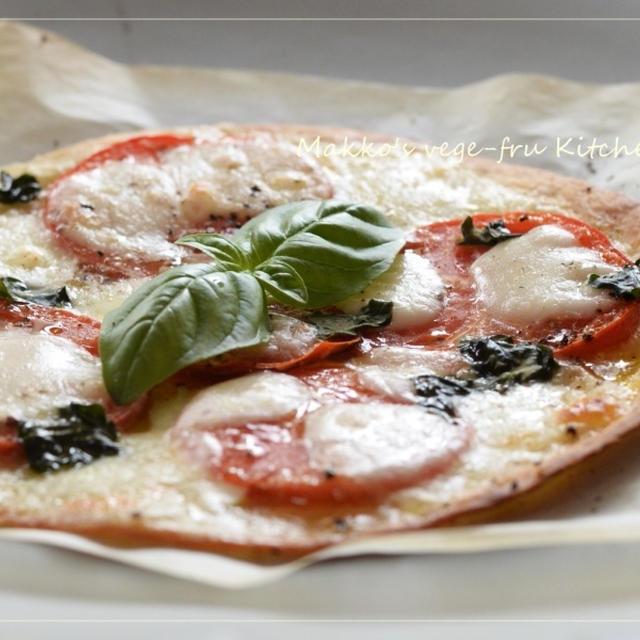 おつまみピザ~トマトソースを作らない 簡単!マルゲリータ~