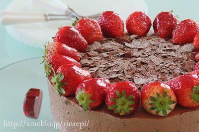 ショコラクリームケーキ 米粉&ココアスポンジ
