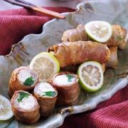 ボリュームUP!豆腐と野菜の豚肉巻き