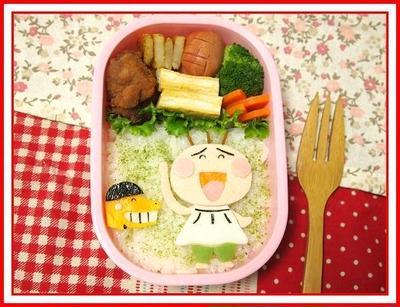 はなかっぱ てれてれぼうず と すぎるくん のお弁当 By よしこ