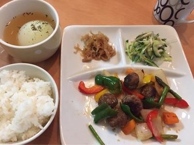 肉団子の甘酢と、とろりん甘~い丸ごと玉ねぎスープ