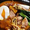 【リメイク料理】カレーが鴨南蕎麦に/巻き寿司の具が白菜ロールに変身です^^