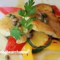 白身魚のポワレ白ワインソース(動画)