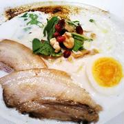 ミシュランのラーメン☆スープが美味しすぎる!鶏白湯らぁめん