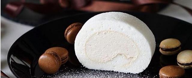 うっとりするほど美しい!純白の「#ホワイトロールケーキ」フォト