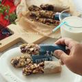 【レシピ】子供と一緒に楽しく作る!タカラ本みりんでナッツバー