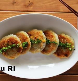 もちっ!シャキッ!れんこん豆腐餅&お知らせです!