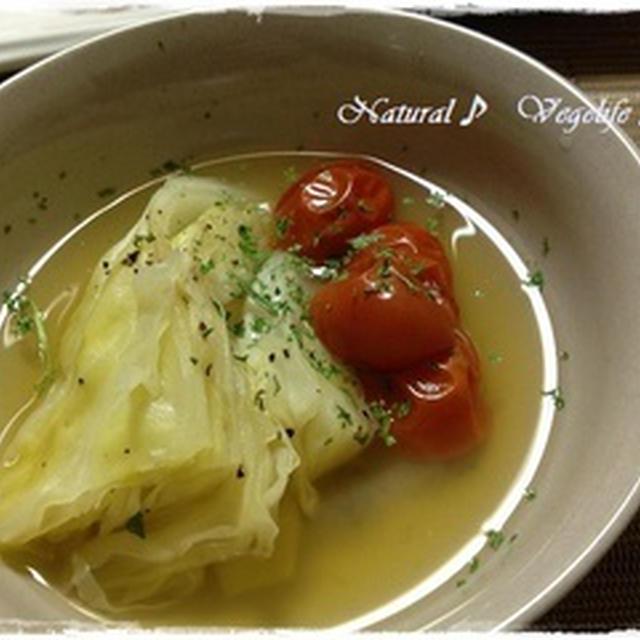 あっさり味で美味しいキャベツのスープ煮♪