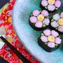【動画】飾り巻き寿司 梅の花の作り方レシピ by 和田 良美さん