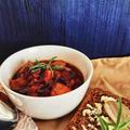 ボンレスハムの野菜たっぷりスープ