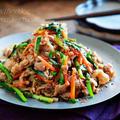 ♡豚肉と残り野菜のプルコギ♡【#簡単レシピ#時短#節約#甘辛】