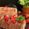 地元公民館レッスンは、バレンタイン用ノンオイルシフォン生地ココアロールケーキです ♪♪