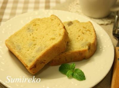 おいし〜いバナナケーキ マクロビオティックスイーツレシピ