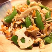 調味料3つ!!切り干し大根の簡単炒め。焼き魚の付け合わせにもええよ!