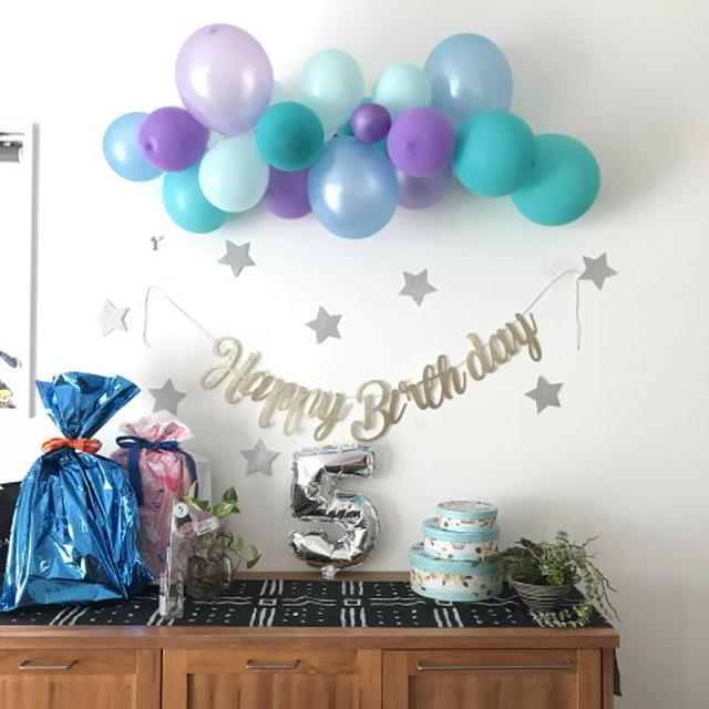 次女ナミの5歳の誕生日でした。