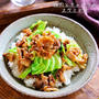 ♡豚肉とキャベツのスタミナ丼♡【#簡単レシピ#時短#節約#春キャベツ】