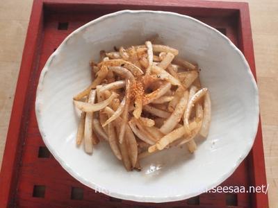 無農薬の大根が手に入ったら、大根の皮のきんぴら♪&わが家の和食調味料のてっぱんレシピ