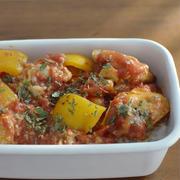 【チキンのトマト煮弁当、とんかつ弁当、と給食のありがたさ】