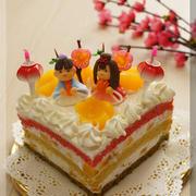 * 桃の節句 ❤ ひな祭りケーキ♬ by Aliceさん