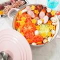 【おうちごはん・おうちカフェ】新鮮でおいしい野菜(青果日和)をたっぷり使って簡単鍋レシピ☆