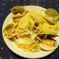 【贅沢パスタ】キャベツと蛤のパスタ