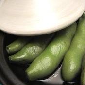 タジンで蒸し野菜 花椒塩