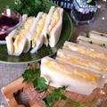 ピクニック♪定番卵サンド&ミックスサンド〜セリアのランチBOX