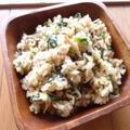 春菊とスパイスのエスニック炒飯 by mukoaiさん