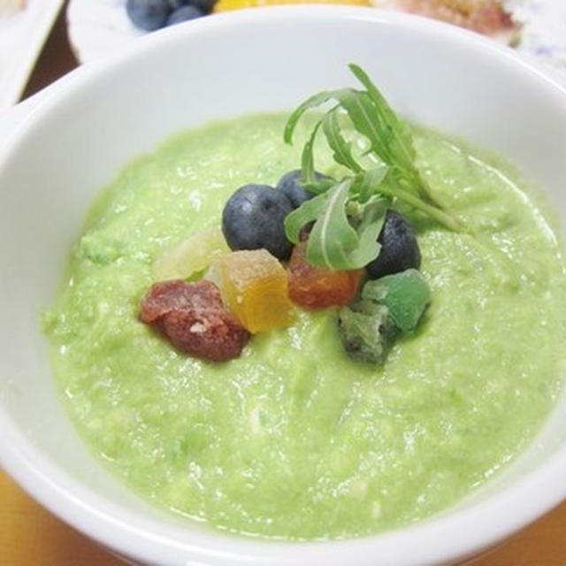 簡単「木の実とフルーツの幸せスープ」v(^0^)/