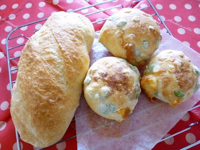 【コンベクションオーブンでパン】リスドォルでソフトフランスなど。