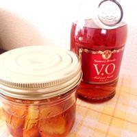 柿と生姜のブランデー漬け♡レシピモニター企画♡
