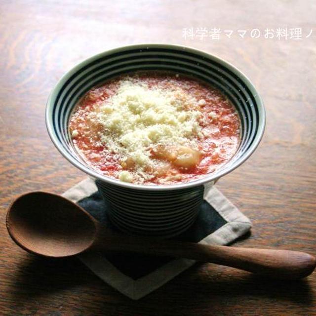 トマトとキャベツのすいとんスープで朝ごはん☆