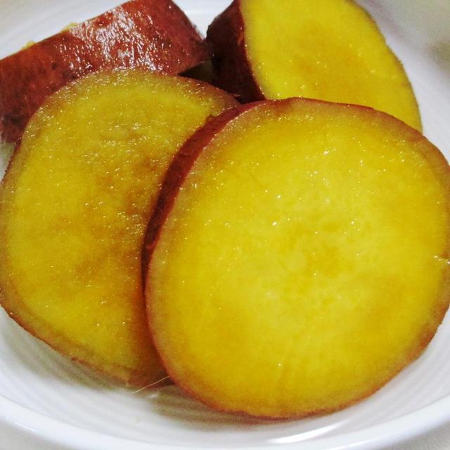安納芋(あんのういも)のレモン煮<甘味絶妙♪>