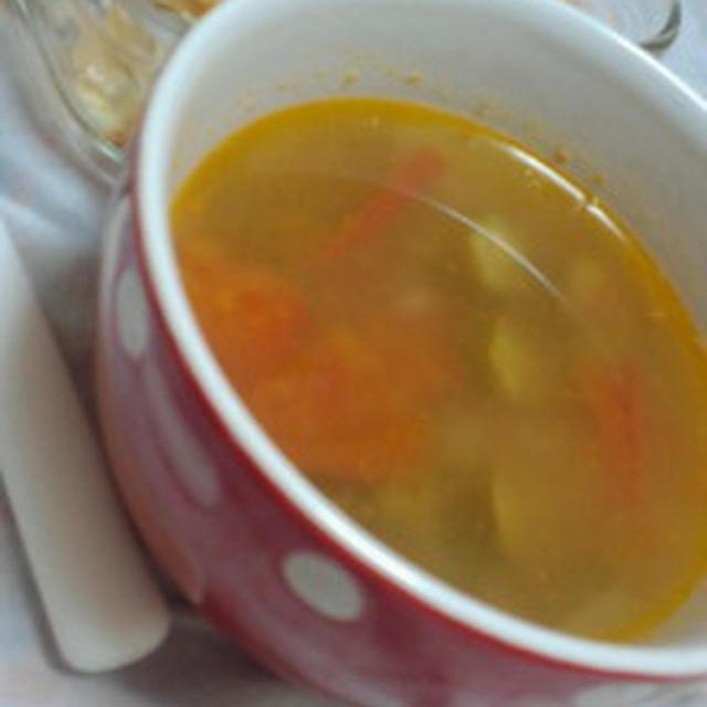 とろとろトマトのガンボスープ