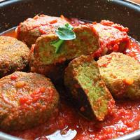 【簡単レシピ】ブロッコリーのイタリアンコロッケ トマトソース和え